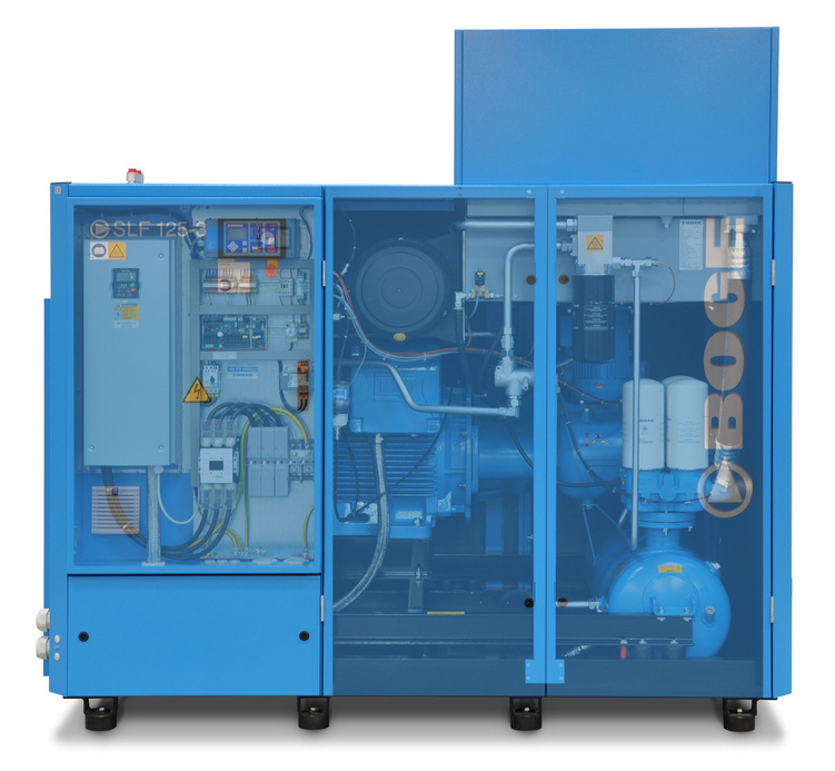 BOGE SLF 125-3 4,98-12,8m³/min 90KW